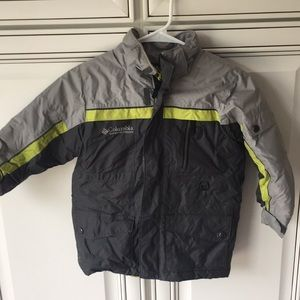 Boys Columbia winter coat